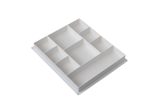 Sectional tray/organiser