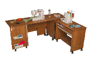 COMFORT 7 Sewing machine and overlocker table