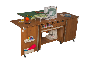 COMFORT 7+ Sewing machine and overlocker table