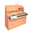 Comfort LN (Silver 3cl.) knitting machine table/cabinet